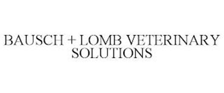 BAUSCH + LOMB VETERINARY SOLUTIONS