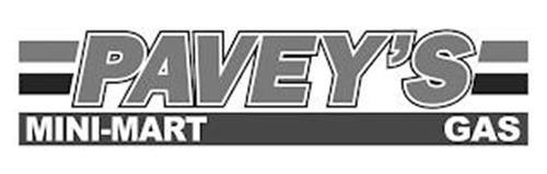 PAVEY'S MINI-MART GAS