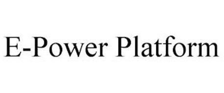 E-POWER PLATFORM