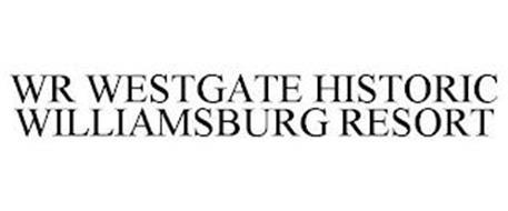 WR WESTGATE HISTORIC WILLIAMSBURG RESORT