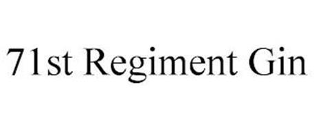 71ST REGIMENT GIN