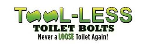 TOOL-LESS TOILET BOLTS NEVER A LOOSE TOILET AGAIN!