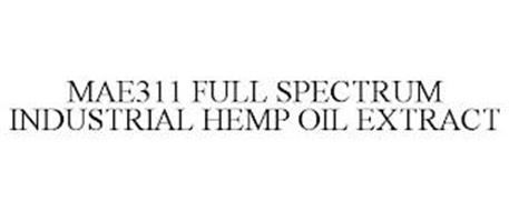 MAE311 FULL SPECTRUM INDUSTRIAL HEMP OIL EXTRACT
