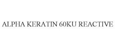 ALPHA KERATIN 60KU REACTIVE