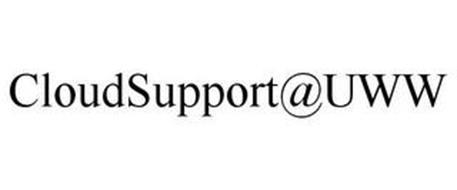 CLOUDSUPPORT@UWW