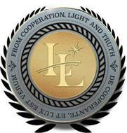 LL FROM COOPERATION, LIGHT AND TRUTH DE COOPERANTE, ET LUX EST VERUM