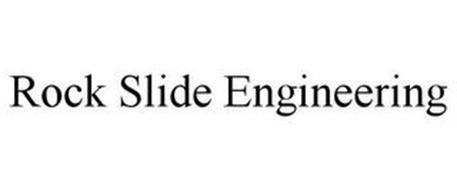 ROCK SLIDE ENGINEERING