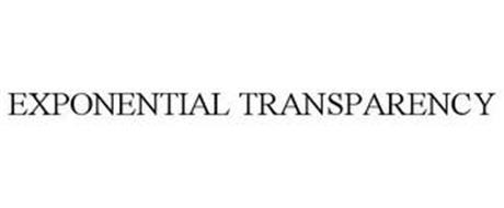 EXPONENTIAL TRANSPARENCY