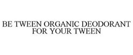 BE TWEEN ORGANIC DEODORANT FOR YOUR TWEEN
