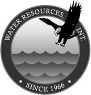 WATER RESOURCES, INT. · SINCE 1966 ·
