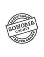 SUSTAINABLY SONOMA COUNTY FARMED GRAPES