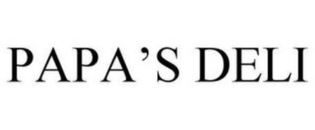 PAPA'S DELI