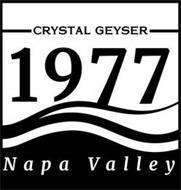 1977 CRYSTAL GEYSER NAPA VALLEY