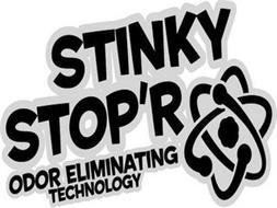 STINKY STOP'R ODOR ELIMINATING TECHNOLOGY