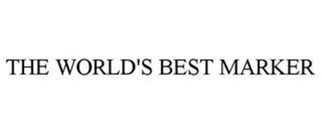 THE WORLD'S BEST MARKER