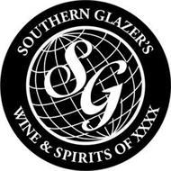 SG SOUTHERN GLAZER'S WINE & SPIRITS OF XXXX