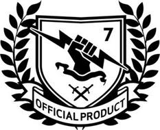 OFFICIAL PRODUCT 7