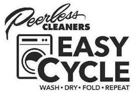 PEERLESS CLEANERS EASY CYCLE WASH DRY FOLD REPEAT
