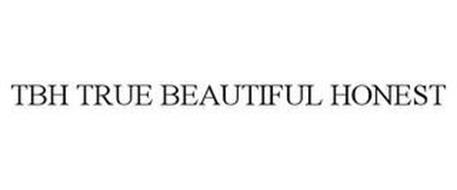 TBH TRUE BEAUTIFUL HONEST