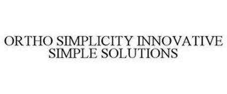 ORTHO SIMPLICITY INNOVATIVE SIMPLE SOLUTIONS