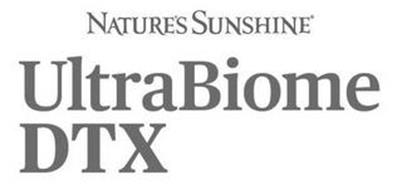 NATURE'S SUNSHINE ULTRABIOME DTX