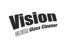 VISION CLEAR GLASS CLEANER