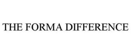 THE FORMA DIFFERENCE