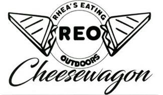 REO CHEESEWAGON RHEA'S EATING OUTDOORS