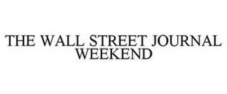 THE WALL STREET JOURNAL WEEKEND