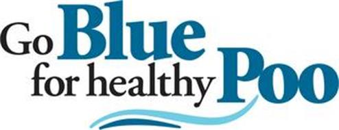 GO BLUE FOR HEALTHY POO
