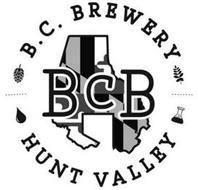 B.C. BREWERY BCB HUNT VALLEY