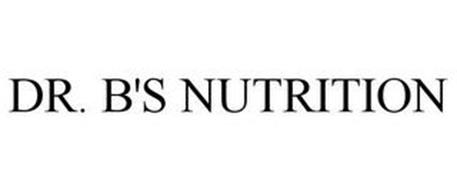 DR. B'S NUTRITION