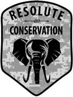 RESOLUTE CONSERVATION