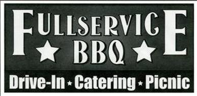 FULL SERVICE BBQ DRIVE-IN CATERING PICNIC