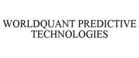 WORLDQUANT PREDICTIVE TECHNOLOGIES