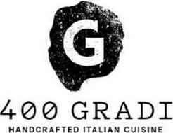 G 400 GRADI HANDCRAFTED ITALIAN CUISINE