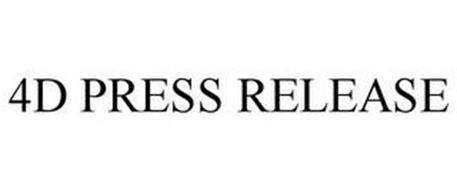 4D PRESS RELEASE