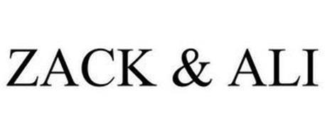 ZACK & ALI