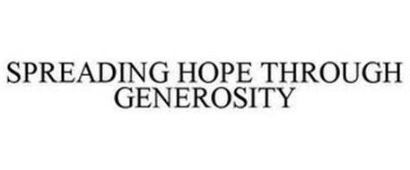 SPREADING HOPE THROUGH GENEROSITY