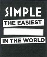 SIMPLE THE EASIEST IN THE WORLD