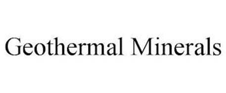 GEOTHERMAL MINERALS