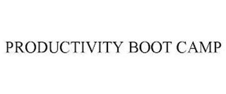 PRODUCTIVITY BOOT CAMP