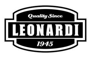 LEONARDI QUALITY SINCE 1945