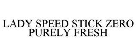 LADY SPEED STICK ZERO PURELY FRESH
