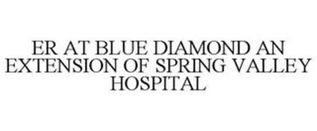 ER AT BLUE DIAMOND AN EXTENSION OF SPRING VALLEY HOSPITAL