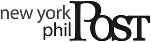 NEW YORK PHIL POST