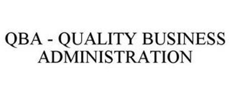 QBA - QUALITY BUSINESS ADMINISTRATION