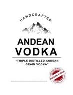 HANDCRAFTED ANDEAN VODKA