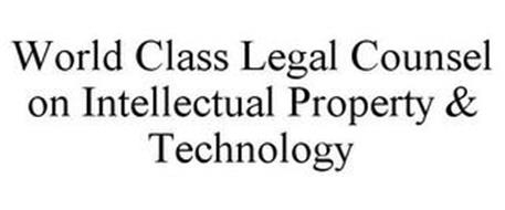 WORLD CLASS LEGAL COUNSEL ON INTELLECTUAL PROPERTY & TECHNOLOGY