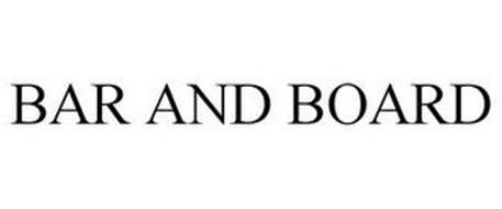 BAR AND BOARD
